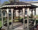 Gazebo in need of repairs